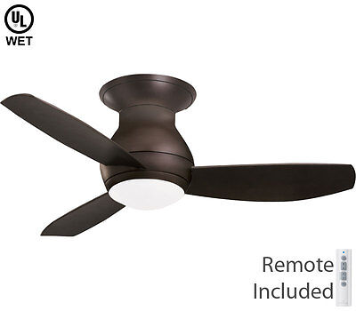 """Emerson 44"""" Curva Sky Oil Rubbed Bronze Wet LED Outdoor Ceil"""