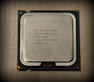 INTEL Core 2 Duo E4500 CPU with Heat Sink and Fan