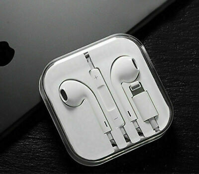 Lightning Earphones With Mic Bluetooth headphones Pop-Up For iPhone 7 8 XS XR X
