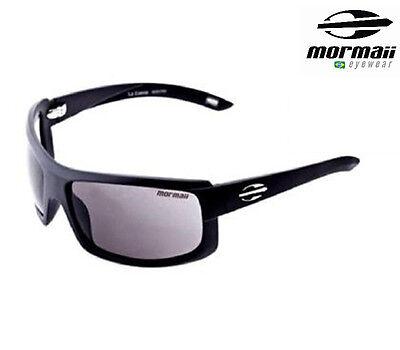 New MORMAII Brazil Model La Cueva Mens Sports Sunglasses Frame Color Shiny Black