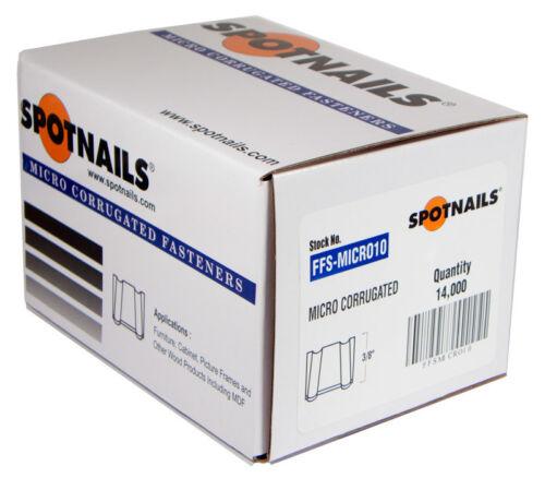 "Spotnails FFSMICRO10 3/8"" MitreNail Mini Corrugated Fasteners (14,000)"
