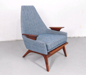 Vintage Mid-Century Adrian Pearsall Style Lounge Chair