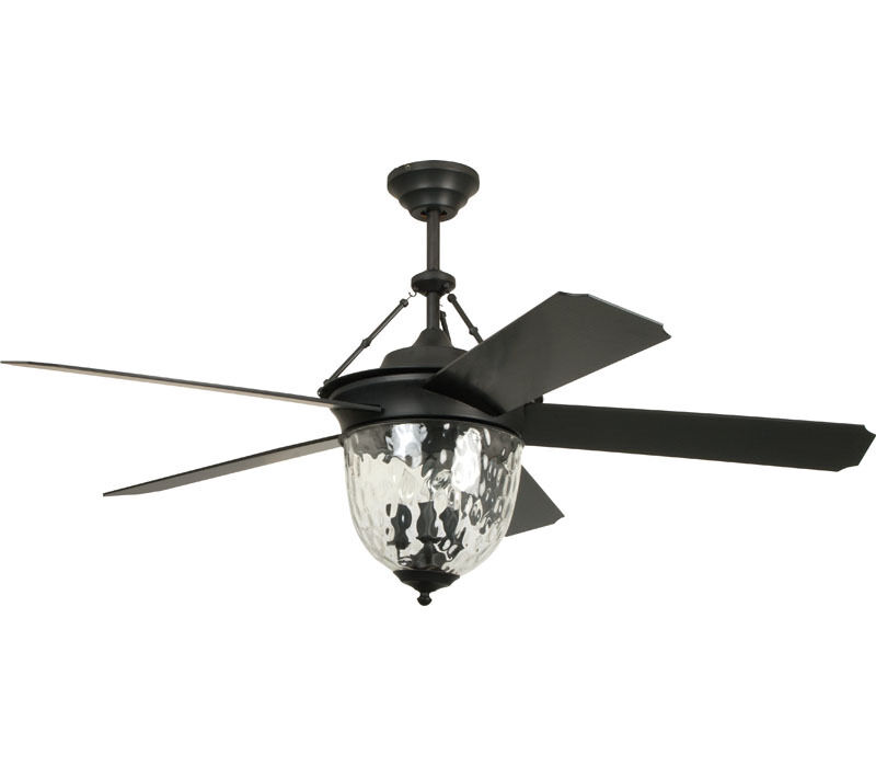 "Craftmade 52"" CAVALIER AGED BRONZE OUTDOOR DAMP Ceiling Fan"
