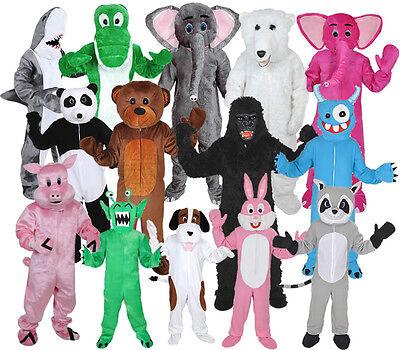 KOSTÜM  - HAI, GORILLA, AFFE, PANDA, HASE, HUND, ELEFANT, BÄR, PFERD, KUH, - Gorilla Kostüm Hunde