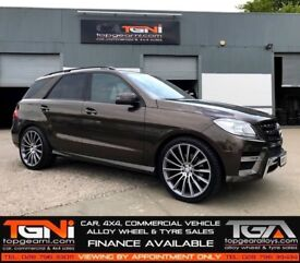 "22"" S600 Style Alloys for an Mercedes ML ETC"