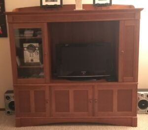 Entertainment unit with TV