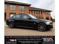 Stunning BMW 320D M-Sport Jet Black - Not A4 S-Line, Passat, A6, Golf, A3, 330D, M3 etc