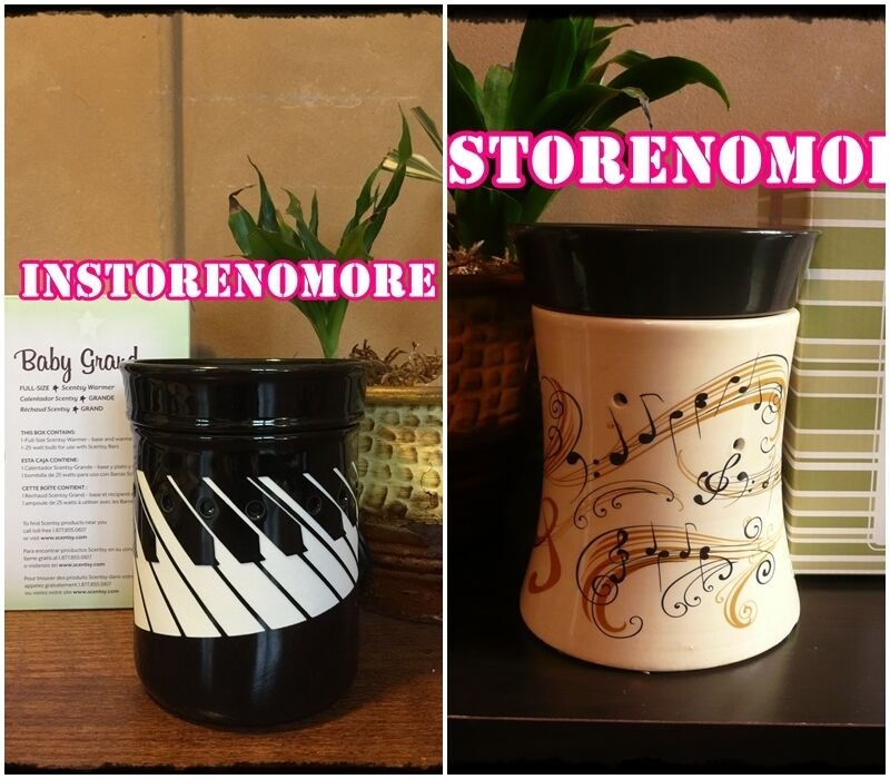 1 SCENTSY Music Theme Full Size Warmer DISCONTINUED Retired