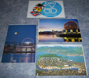 Expo 86 Postcards***NEW PRICE***