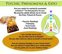 PSYCHIC PHENOMENA & EXPO