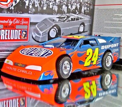 Jeff Gordon 2007 Eldora Prelude To The Dream Dupont Flames Dirt Car 1 24