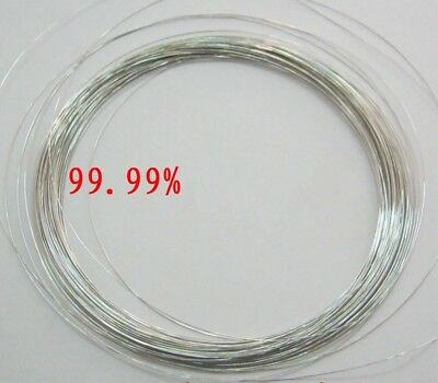 One Piece 99.99 Purity Platinum Pt Metal Wire Diameter 0.3mm Length 100mm