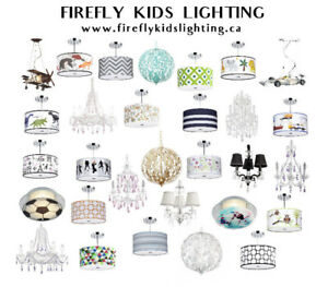 Kids Lighting Sale - 30% off + Free Shipping