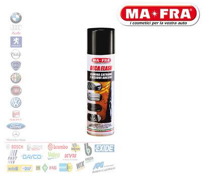 MA-FRA Deca Flash Spray Elimina Alquitran Residuos Adhesivos Coche Moto H0065