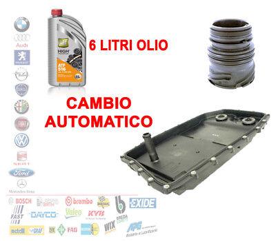 COPPA CAMBIO AUTOMATICO+CONNETTORE BMW SERIE 5 6 7 X3 E60 E61 + OLIO 6 LT K5012