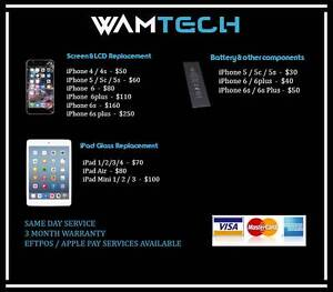 WAMTECH : Mobile Repairs, Parts, Accessories Andrews Farm Playford Area Preview