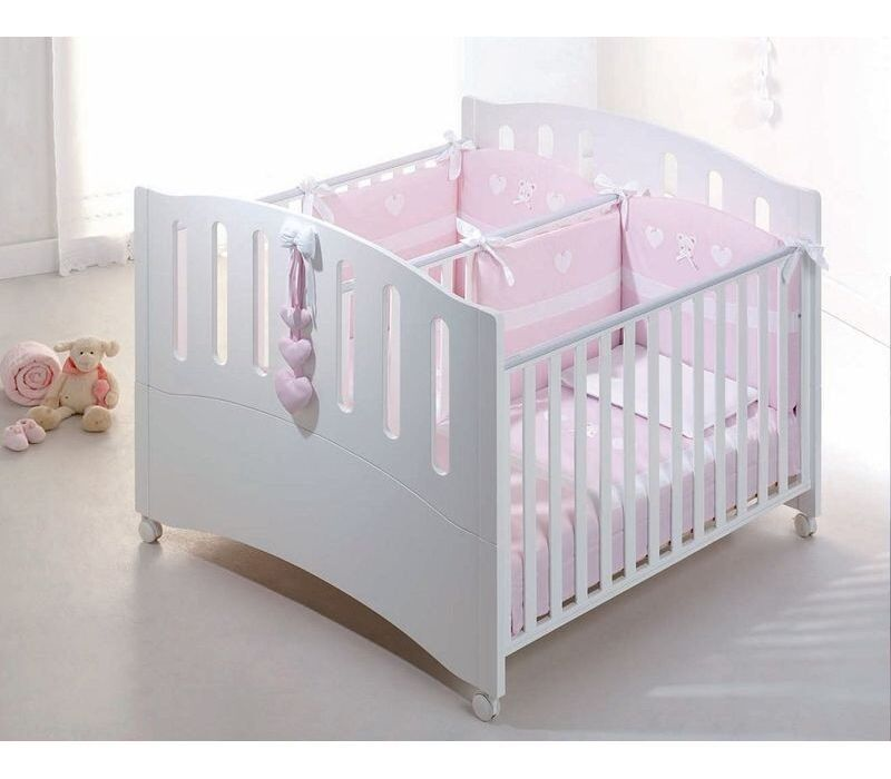 Ordinaire Twins Babies Bed Gemini Bianco By Azzurra Design