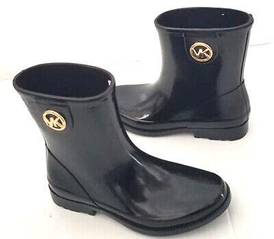 New MICHAEL KORS BENJI RAIN BOOTIE BOOTS -