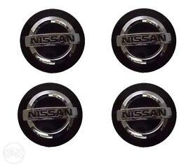 Nissan alloy wheel centre caps for sale.