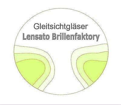 2 Gleitsichtgläser Kunststoff 1,5 Hart SET vom Optikermeister Sparaktion SALE