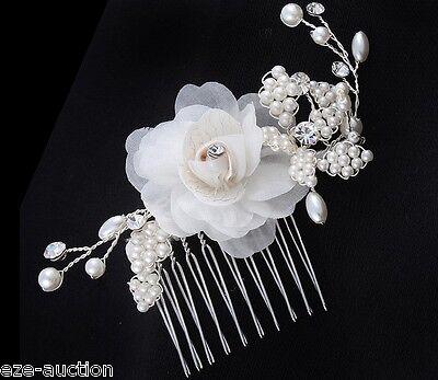 Свадебная заколка Brilliant Bride Wedding Ivory