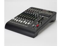 RCF L-Pad 12c Mixer with 6 Mono 2 Stereo (4mono/4 stereo) 2 Aux Sends and Optional USB Recorder