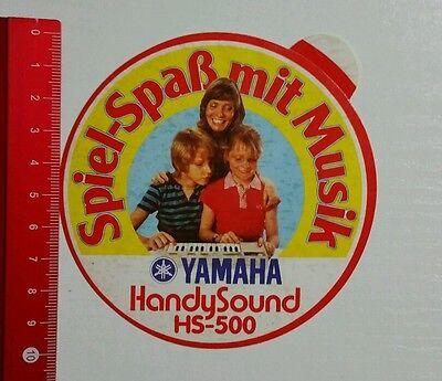 Aufkleber/Sticker: Yamaha Handy Sound HS 500 (09051631) Handy-sound