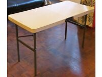 Lot 2 Folding Banqueting Tables, Wedding, Marquee, Market Stall, Car Boot