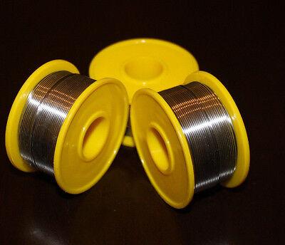 New 6040 Tinlead Flux 2 .8mm Tin Rosin Core Solder Wire 3 Rolls