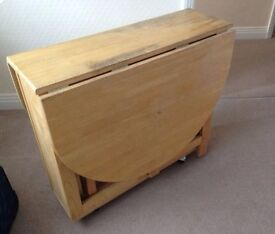 John Lewis Folding Table and Chairs