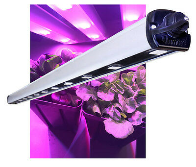 Illumitex Eclipse Gen2 N Bar Led Grow Light Fixture No Cord   Free Shipping
