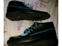 Kickers boots classic style limited edition size 10 mens
