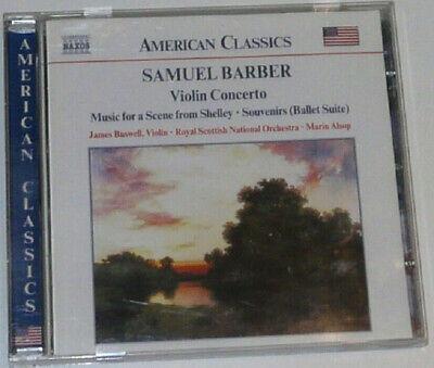 American Classics - Samuel Barber Violin Concerto - CD Album ()