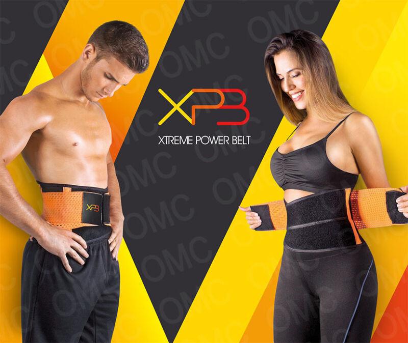 XTREME POWER BELT MEDIUM Orange,tecnomed, osmotic, redu shaper sweet hot sweat
