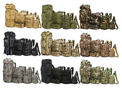8L/10L/30L/55L/80L Outdoor Military Tactical Camping Hiking