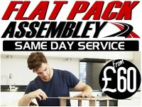 £30/HR IKEA FLAT PACK ASSEMBLY FURNITURE 02033756413 FLATPACK SAME DAY MAN AND VAN SHEPHERDS BUSH