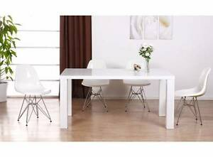 Brand New White HIGH GLOSS Dining Table 150cm Acacia Ridge Brisbane South West Preview