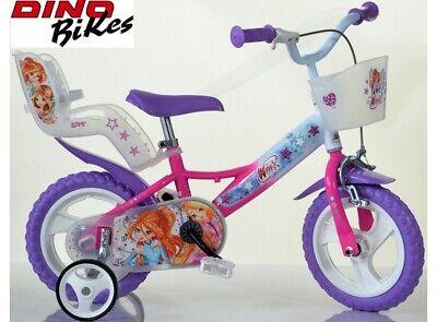 bicicleta para niña 12 WINX CLUB DINO MAGIX BICICLETAS producto ITALIANO