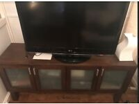 BEAUTIFUL NEW WOODEN TV CABINET STAND WITH STORAGE