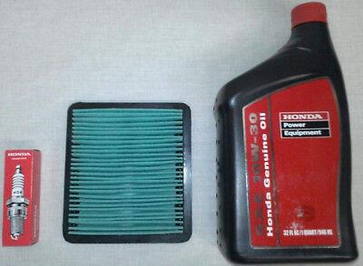 Honda Eu3000 Eu3000is 3000 Watts Generator Tune-up Kit W Air Filter Spark Plug