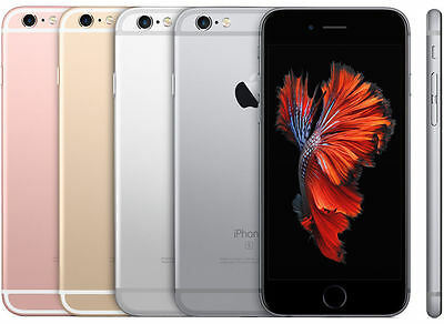 Unlocked Apple Iphone 6S 128Gb 4G Lte At T T Mobile Cricket Metro Pcs Smartphone