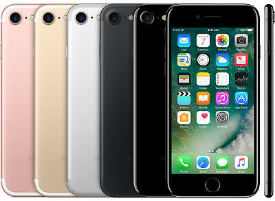 """Apple iPhone 7 128GB (GSM Unlocked) 4.7"""" 12MP 3D Touch iOS Smartphone"""