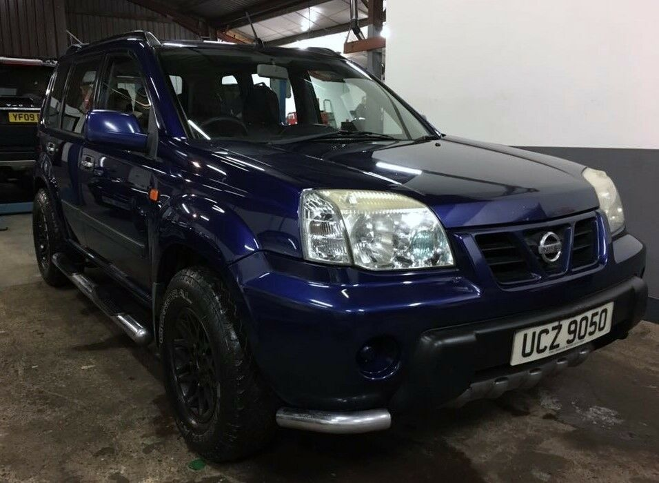 nissan x trail x trail 2 0 sport chunky sporty off road 4x4 long mot alloys all terrain. Black Bedroom Furniture Sets. Home Design Ideas