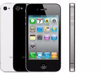 APPLE IPHONE 4 GRADE A 8GB EE NETWORK - RECEIPT & WARRANTY