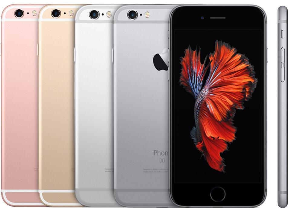 Apple iPhone 6S Plus 16GB 64GB 128GB - TMobile MetroPcs Simple Mobile Smartphone