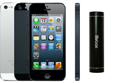 Apple iPhone 5 32GB 4G LTE Factory Unlocked GSM Cell Phone W/ Free Powerbank SRB