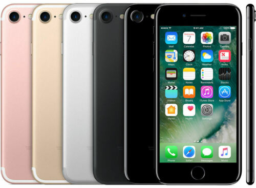 Apple iPhone 7 32GB/128GB/256GB Smartphone Mobile Factory Unlocked 12MP iOS WiFi