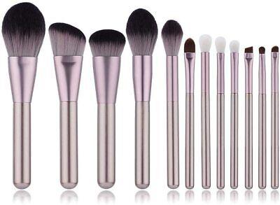 12PCS Kabuki Make up Brushes Set Makeup Foundation Blusher Face Powder Brush UK