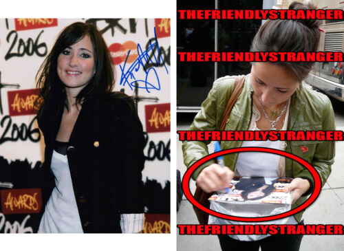 KT TUNSTALL signed Autographed 8X10 PHOTO - EXACT PROOF - Suddenly I See COA