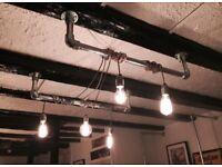 Industrial Pipe Ceiling Lights